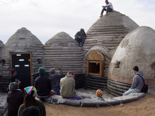 Adobe housing workshop in california